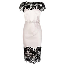 Buy Coast Luma Duchess Satin Dress, Blush Online at johnlewis.com