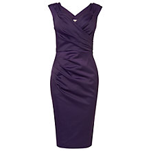 Buy Phase Eight Sherry Wrap Dress, Blackcurrant Online at johnlewis.com