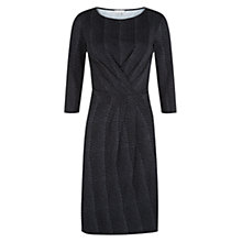Buy Hobbs Snake Print Dress, Grey Black Online at johnlewis.com