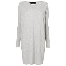 Buy Phase Eight Vienna V-Neck Tunic Dress, Grey Marl Online at johnlewis.com