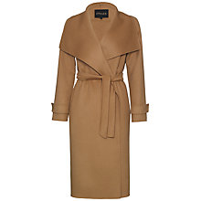 Buy Jaeger Wool Wrap 3/4 Coat Online at johnlewis.com