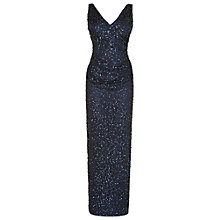 Buy Phase Eight Priscilla Sequin Full Length Dress, Midnight Online at johnlewis.com