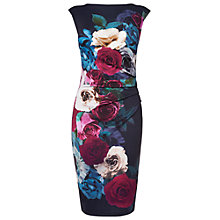 Buy Phase Eight Adalina Dress, Midnight Online at johnlewis.com