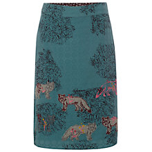 Buy White Stuff Crafty Fox Skirt, Privet Green Online at johnlewis.com