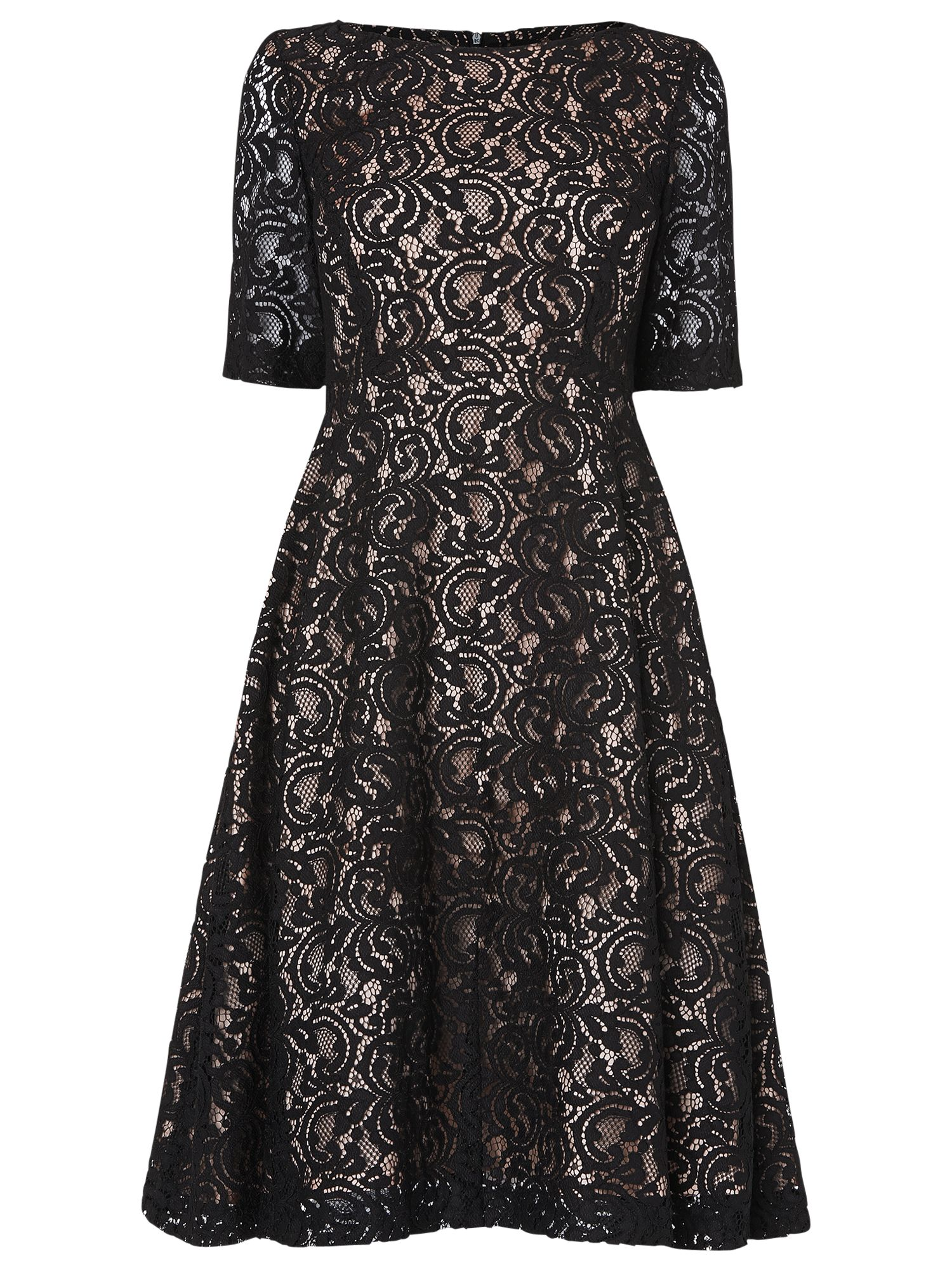 phase eight louanna lace dress black and nude, phase, eight, louanna, lace, dress, black, nude, phase eight, 12|8, clearance, womenswear offers, womens dresses offers, women, party outfits, lace dress, womens dresses, special offers, fashion magazine, brands l-z, inactive womenswear, 1673139