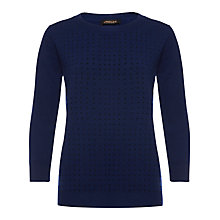 Buy Jaeger Hot Fix Stripe Sweater Online at johnlewis.com