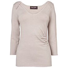 Buy Phase Eight Sam Sweetheart Jumper, Putty Online at johnlewis.com