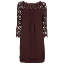 Buy Phase Eight Hester Tunic Top, Wine Online at johnlewis.com