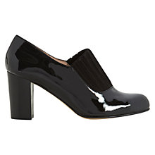 Buy NW3 by Hobbs Ivy Leather Shoe Boots, Black Online at johnlewis.com