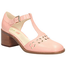 Buy Clarks Orla Kiely Bibi Leather Sandals, Pink Online at johnlewis.com
