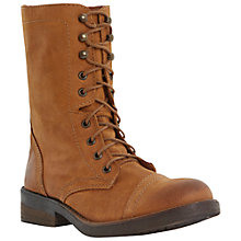 Buy Steve Madden Monch-C SM Leather Colour Pop Zip Calf Boot Online at johnlewis.com