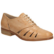 Buy Clarks Hotel Image Leather Casual Shoes, Light Tan Online at johnlewis.com