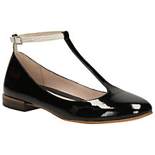 Buy Clarks Festival Glee Leather Ankle Strap Pumps Online at johnlewis.com
