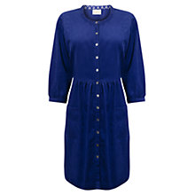 Buy East Pocket Babycord Cotton Dress, Iris Online at johnlewis.com