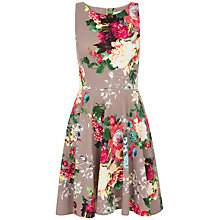 Buy Closet Floral Cut Away Dress, Multi Online at johnlewis.com