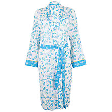 Buy Cyberjammies Daisy Print Robe, Blue Online at johnlewis.com