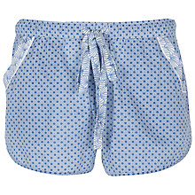 Buy Cyberjammies Danielle Shell Print Shorts, Blue Online at johnlewis.com