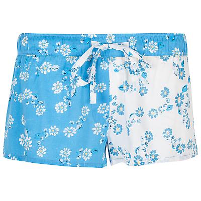 Cyberjammies Daisy Print Shorts, Blue