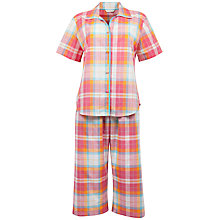 Buy Cyberjammies Ezme Brights Cropped Pyjama Set, Multi Online at johnlewis.com