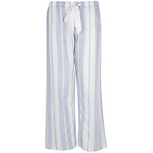 Buy Cyberjammies Danielle Striped Pyjama Pants, Blue Online at johnlewis.com