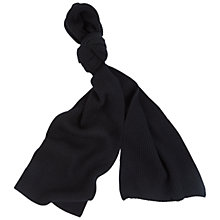 Buy Aquascutum Fenchurch Ribbed Cashmere Scarf Online at johnlewis.com