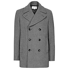 Buy Reiss Roman Wool Rich Pea Coat Online at johnlewis.com