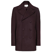 Buy Reiss Roman Wool Rich Peacoat Online at johnlewis.com