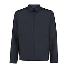 Buy Aquascutum Reversible Harrington Jacket, Navy Online at johnlewis.com