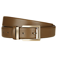 Buy Aquascutum Nappa Leather Belt Online at johnlewis.com