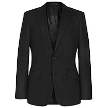Buy Reiss Langton Slim Fit Check Blazer, Dark Navy Online at johnlewis.com