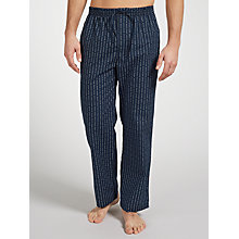 Buy BOSS Logo Cotton Lounge Pants, Navy Online at johnlewis.com