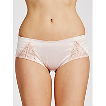 Buy COLLECTION by John Lewis Lucille Lace Short Briefs, Blush / Mellow Rose Online at johnlewis.com