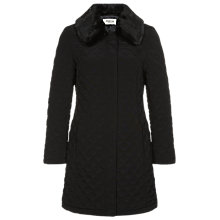 Buy Precis Petite Fur Collar Quilted Coat Online at johnlewis.com