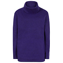Buy Reiss Sergant Oversized Roll Neck Jumper, Blue Passion Online at johnlewis.com