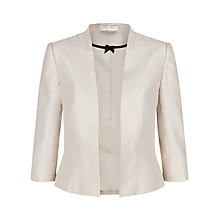 Buy Jacques Vert Edge To Edge Jacket, Blonde Online at johnlewis.com