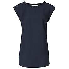 Buy Reiss Minnie Fluid Ruffle Detail Top Online at johnlewis.com
