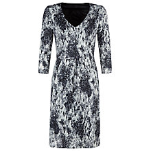 Buy Kaliko Vintage Floral Dress, Multi Grey Online at johnlewis.com