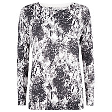 Buy Kaliko Vintage Floral Jumper, Multi Grey Online at johnlewis.com