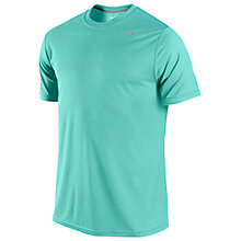 Buy Nike Legend Dri-FIT Poly Training T-Shirt, Turquoise Online at johnlewis.com
