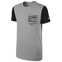 Buy Nike Print Party T-Shirt, Dark Grey Heather Online at johnlewis.com