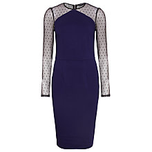 Buy Sugarhill Boutique Rosie Dress, Navy/Black Online at johnlewis.com