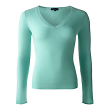 Buy Jigsaw Cashmere V-Neck Sweater Online at johnlewis.com