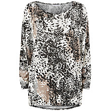 Buy Fenn Wright Manson Violet Top, Animal Print Online at johnlewis.com