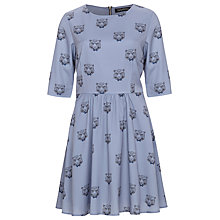 Buy Sugarhill Boutique Smart Tiger Dress, Dusky Blue Online at johnlewis.com