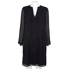 Buy Fenn Wright Manson Michaela Dress, Navy/Black Online at johnlewis.com