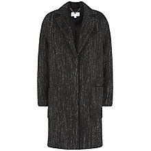 Buy Fenn Wright Manson Tweed Wren Coat, Black/White Online at johnlewis.com