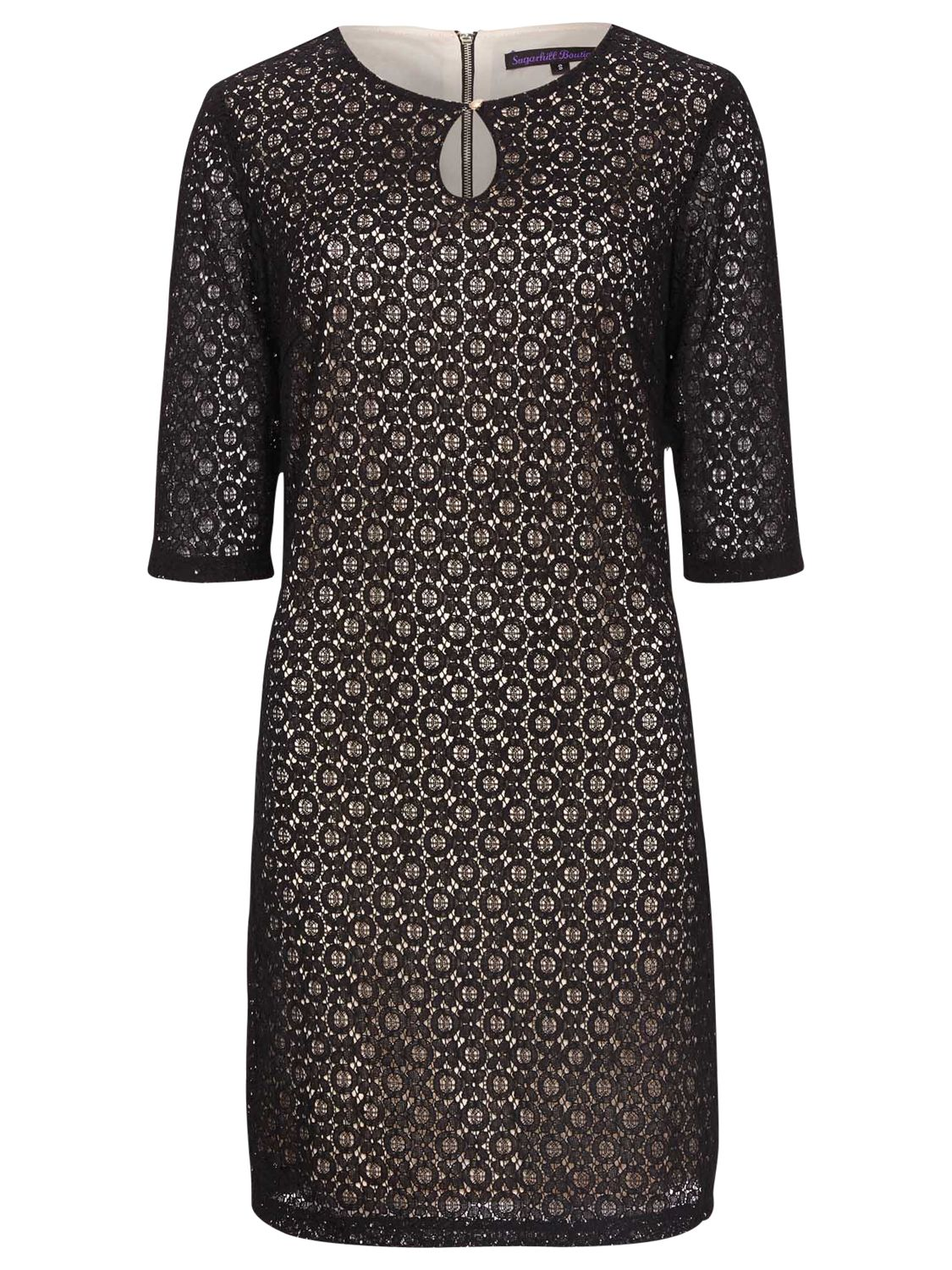 sugarhill boutique amelia dress black, sugarhill, boutique, amelia, dress, black, sugarhill boutique, s|m|xs, clearance, womenswear offers, womens dresses offers, women, womens dresses, party outfits, party dresses, special offers, workwear offers, 1695285
