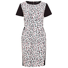 Buy Sugarhill Boutique Leopard Spot Dress, Cream/Black/Multi Online at johnlewis.com