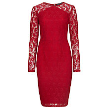Buy Sugarhill Boutique Jessica Dress, Burgundy Online at johnlewis.com