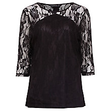 Buy Sugarhill Boutique Louisa Blouse, Black Online at johnlewis.com